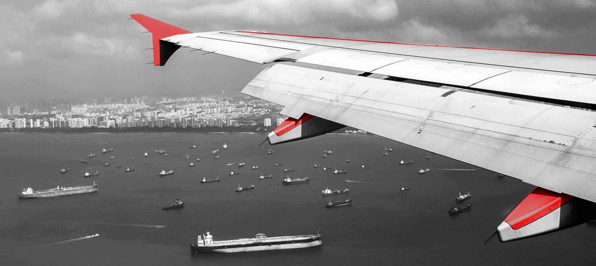Air freight low flight