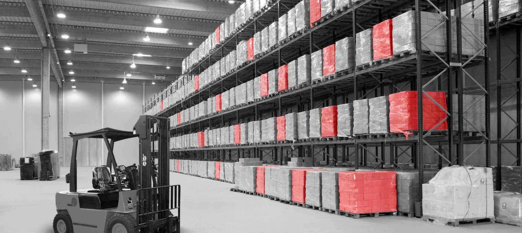 Logistics and warehouse racking