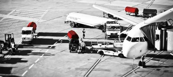 Airfreight cargo importing PPE