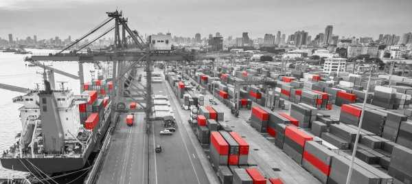 Shipping import port