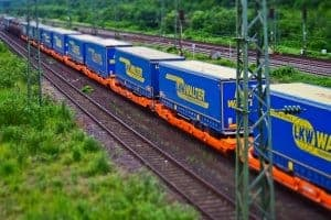 Cheap freight by train